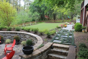 Backyard transformed in Vestavia Hills, Al