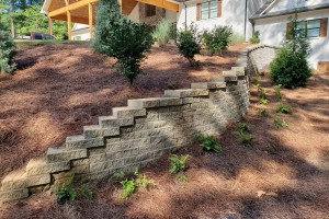 Beautiful Landscape Project Around The Entire House